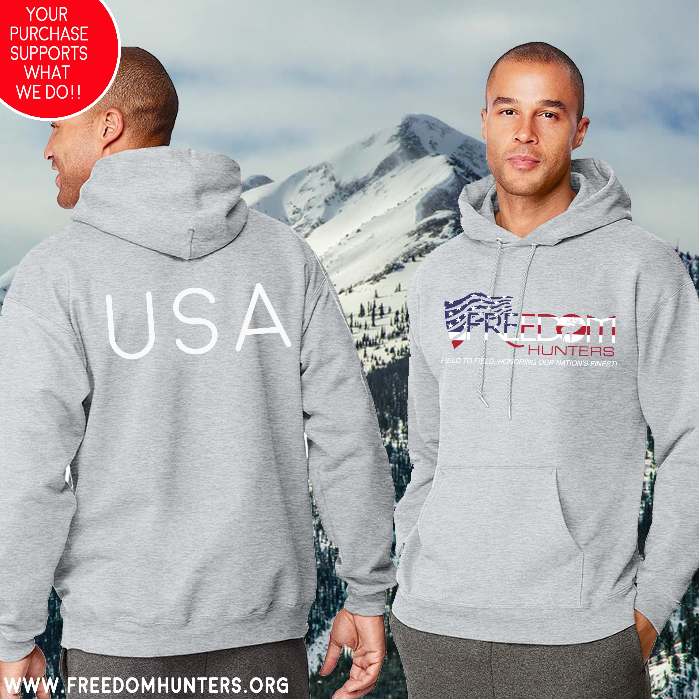 Freedom Hunters Gone Olympic Hoodie
