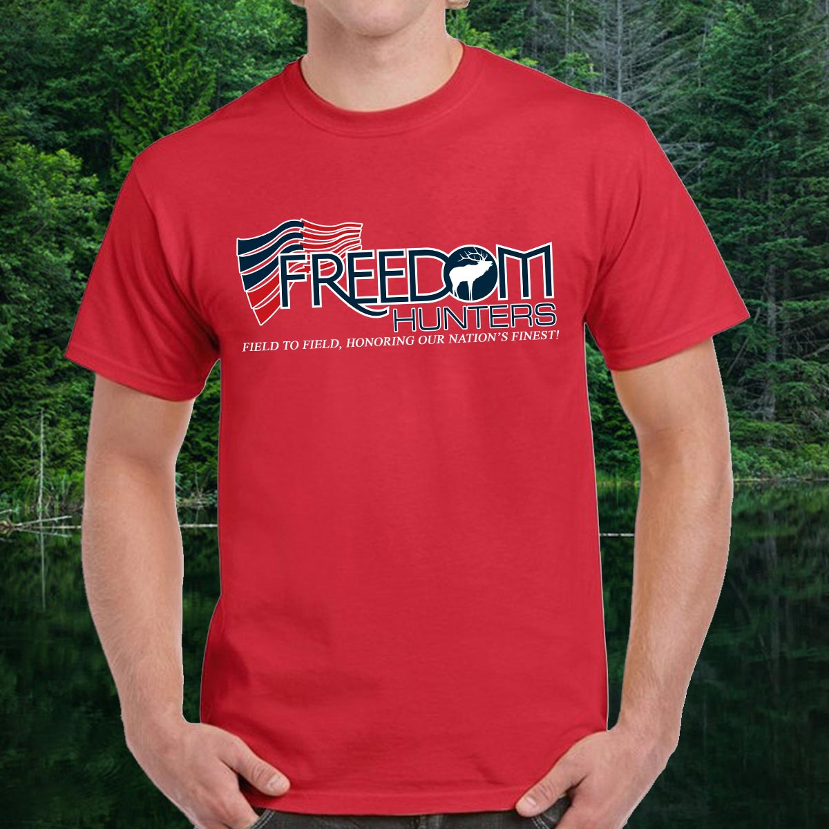 Freedom Hunters Original Logo T-Shirt