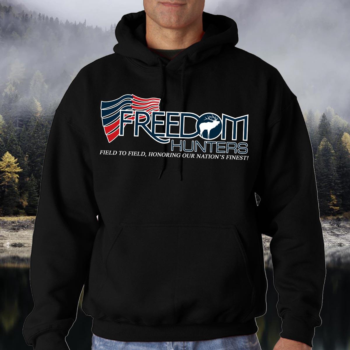 Freedom Hunters Original Logo Hoodie