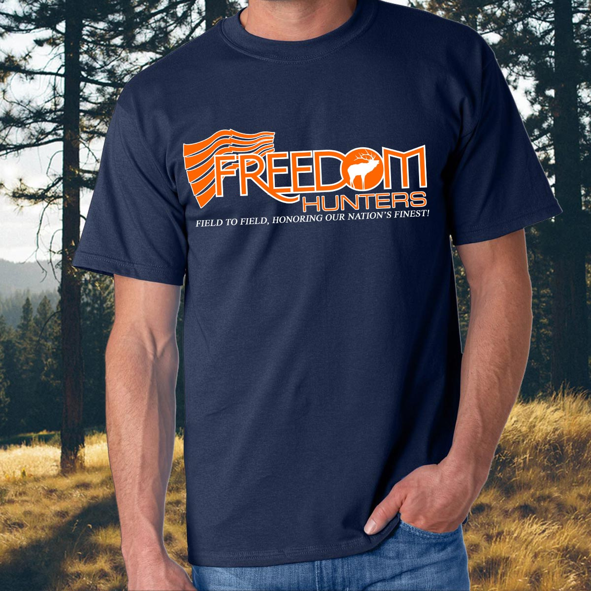 Freedom Hunters Original Logo Gone Blaze!