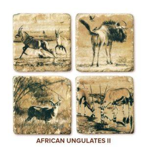 John Banovich: African Ungulates Coasters