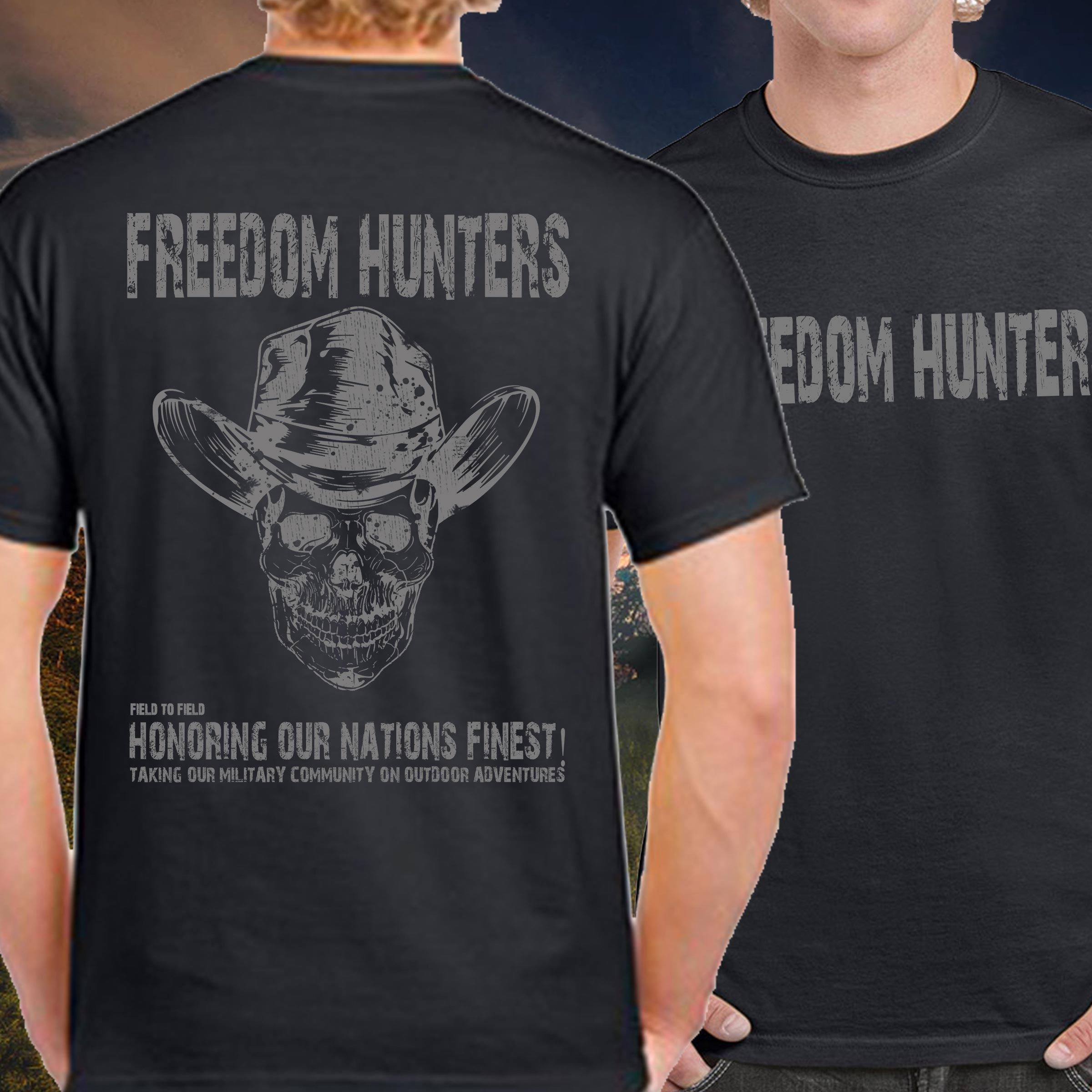Freedom Hunters Mission Skull/Hat